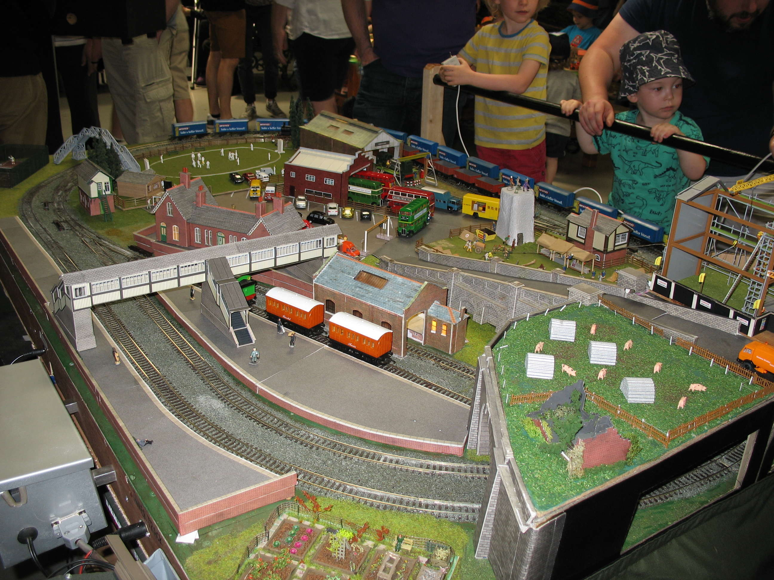Thomas Themed layout at Bredgar & Wormshill event
